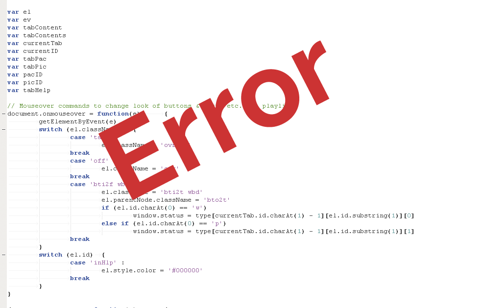 outdated source code